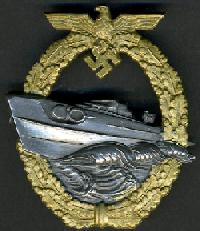 REAL & FAKE 2nd PATTERN E BOAT BADGE  FOR COLLECTORS TO VIEW