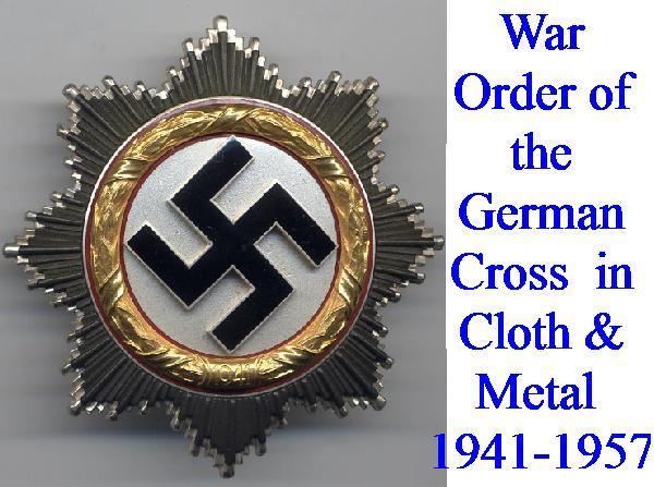 GERMAN CROSSES IN GOLD & SILVER