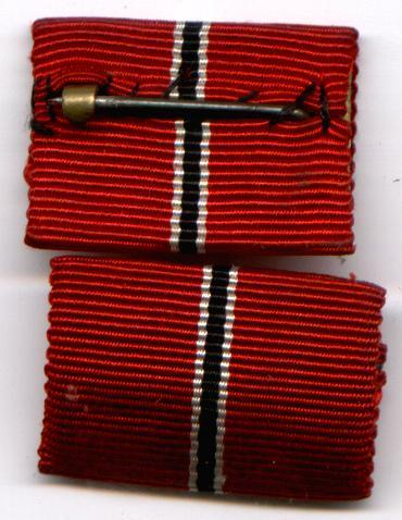 THIRD RIECH RIBBONS  FOR COLLECTORS TO VIEW