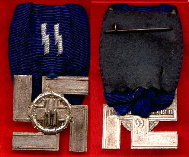 SS 4 YR, 8 Yr & 12 Yr AWARDS AND MEDALS, AS WELL AS MEMBERSHIP BADGES