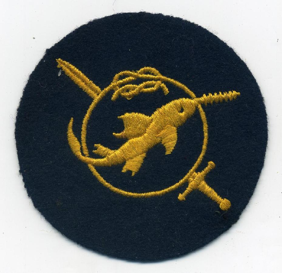 Frogman's Patch <BR> War Badge For Sale