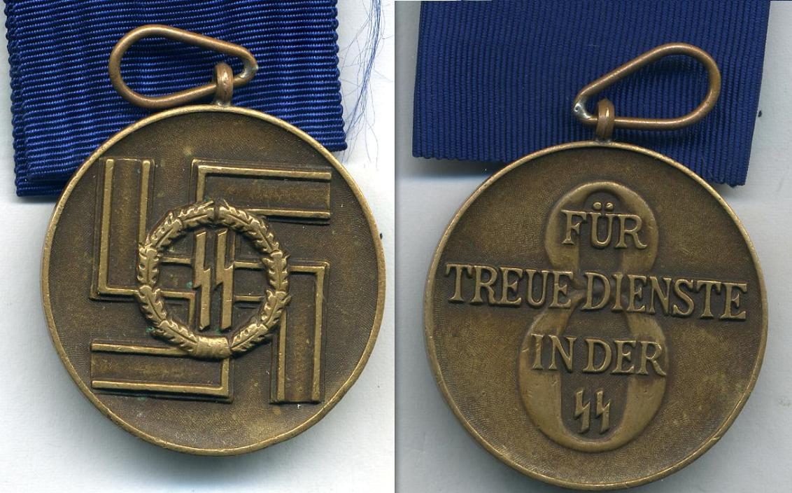ORIGINAL NAZI German WAFFEN SS Medals And Awards FOR SALE