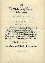 A U-Boat Document  Group to  Baron Emmerith Freiherr Von Mirbach at WWW.Thirdreichmedals.com