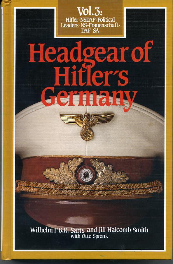 German Bender Book on Hats     at WWW.Thirdreichmedals.com