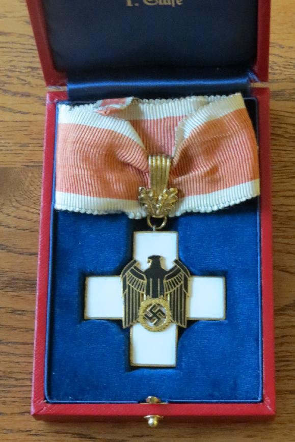 German Social Welfare Cross <BR> Case For Sale