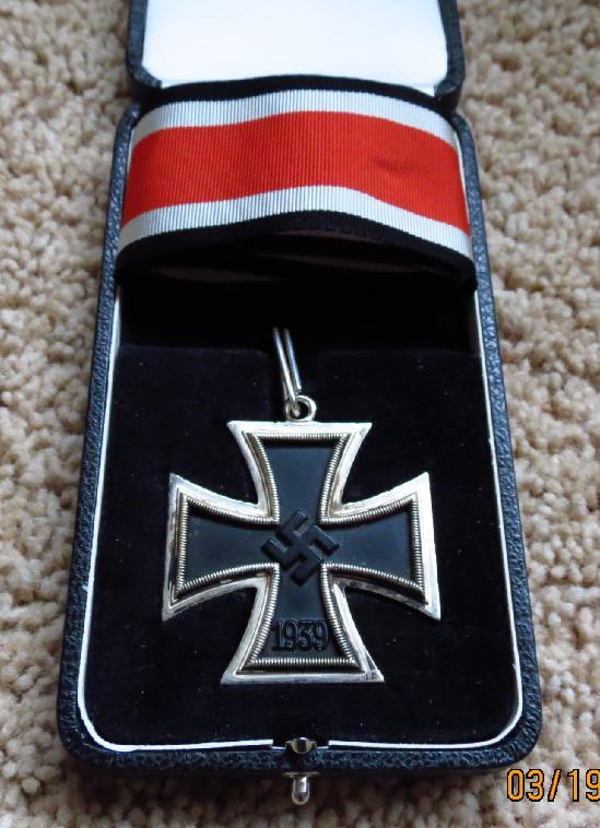 German Knight Cross <BR> Case For Sale
