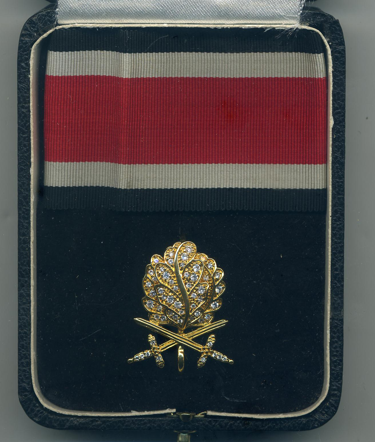 Post war Golden Oakleaves, Swords and Diamonds to  the Knights Cross  <BR> of the Iron Cross For Sale
