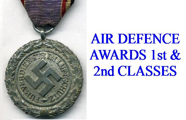 AIR DEFENCE MEDALS,