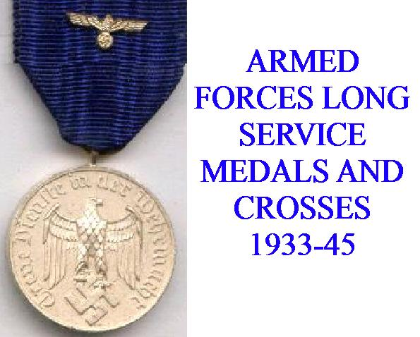ARMED FORCES LONG SERVICE AWARDS,