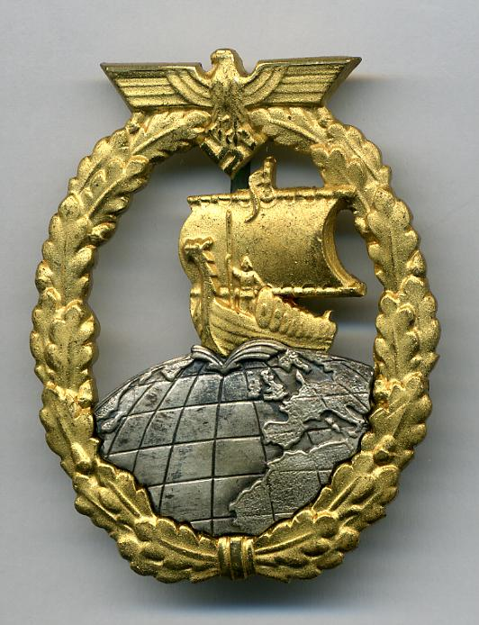 German 3rd reich navy war badges of world war two - German military decorations ww2 ...