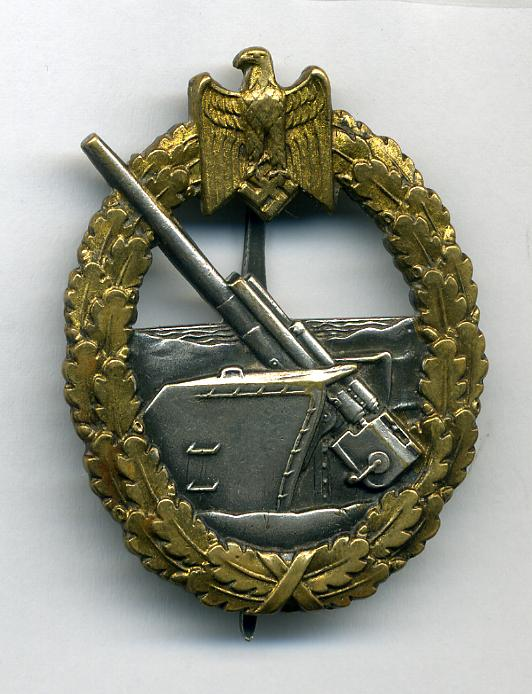 COASTAL ARTILLARY BADGE