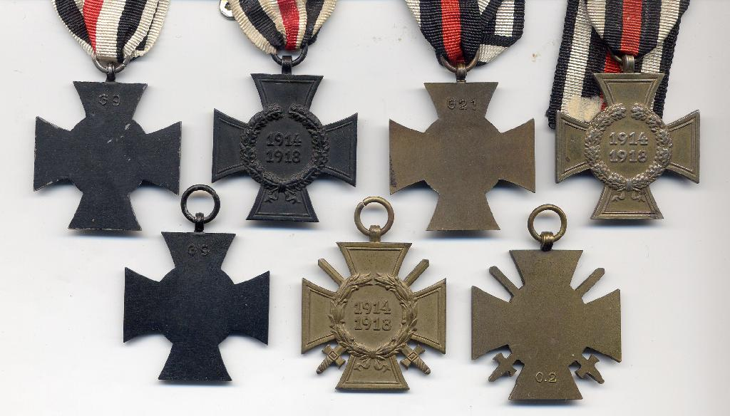 All Grades of the  Cross of Honour