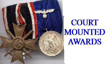COURT MOUNTED AWARDS