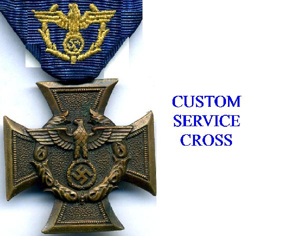 CUSTOMS AWARDS AND CROSSES