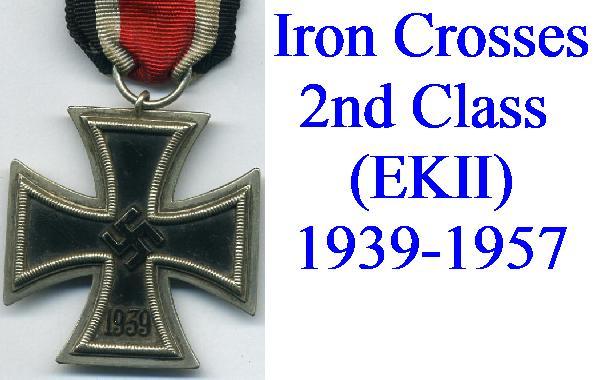 IRON CROSS 2nd CLASS 1939-1957