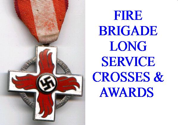 GERMAN FIRE BRIGADE AWARDS