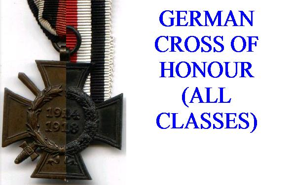 CROSSES OF HONOUR