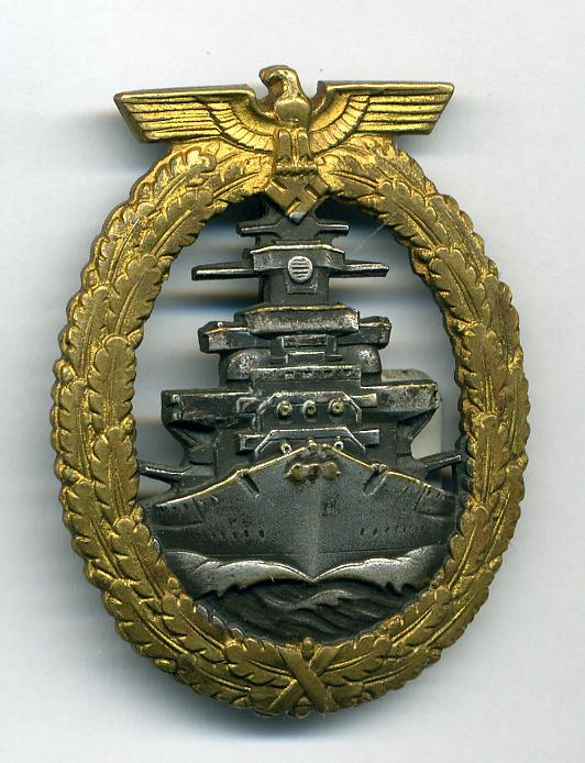 HIGH SEAS FLEET BADGES