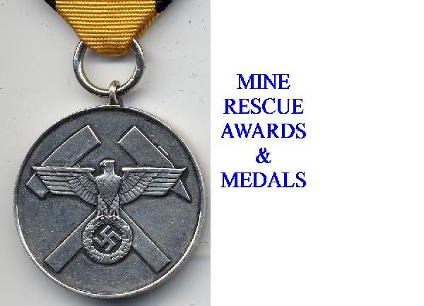 GERMAN MINE WORKES AWARDS