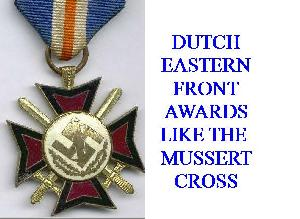 DUTCH MUSSERT CROSSES