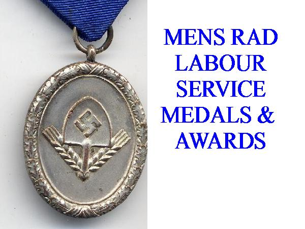 GERMAN RAD MENS SERVICE AWARDS