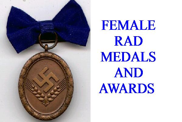 GERMAN RAD WOMENS SERVICE AWARDS
