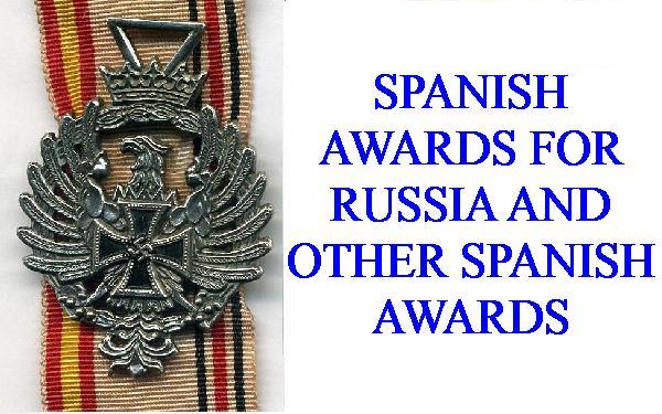 SPANISH MEDALS
