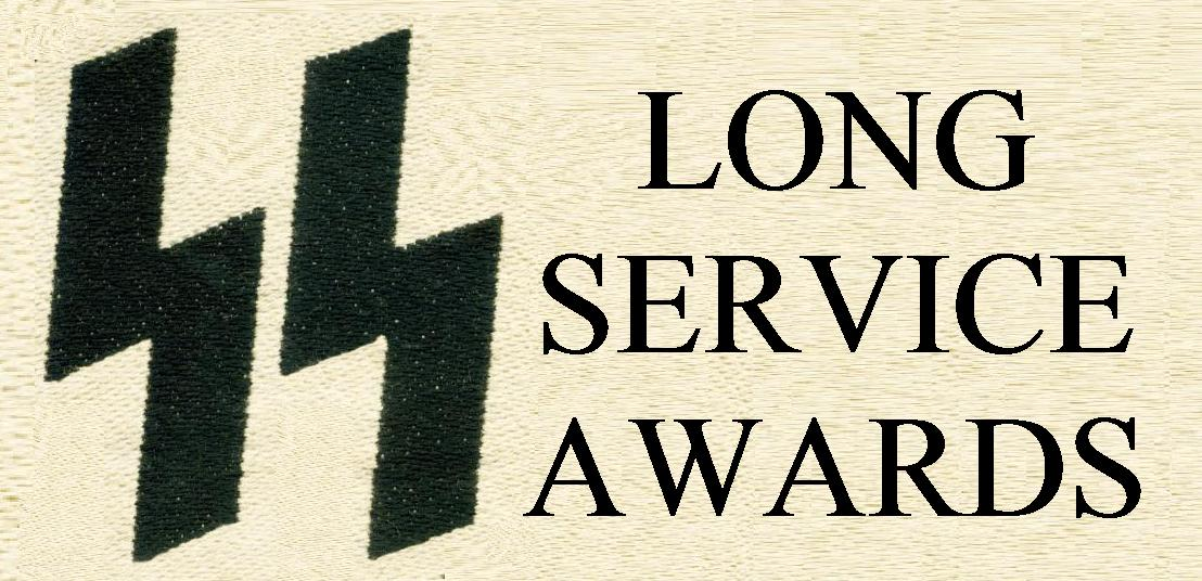 SS LONG SERVICE AWARDS
