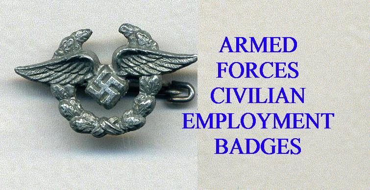 ARMED FORCES SERVICE BADGES