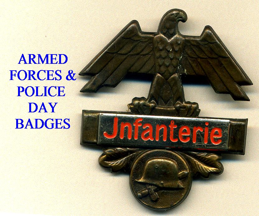 ARMED FORCES DAY BADGES