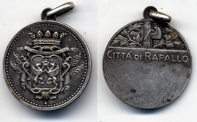 An Italian Silver Medal at WWW.Thirdreichmedals.com