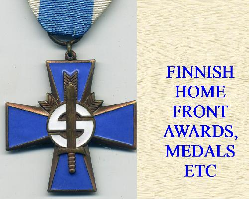FINNISH HOME FRONT AWARDS