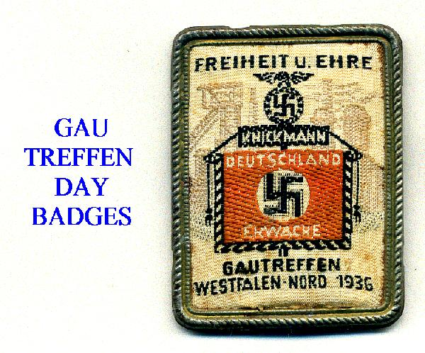 GAU DAY BADGES