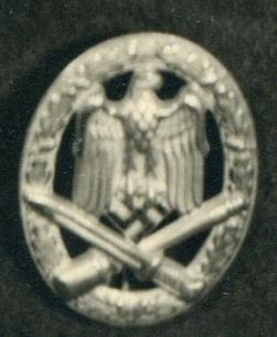 THIRD REICH GERMAN GENERAL ASSAULT WAR BADGES