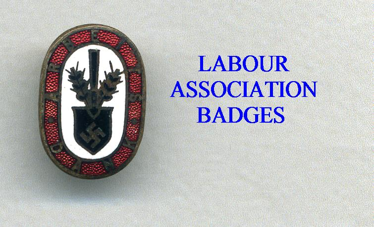 LABOUR (RAD ETC)  MEBERSHIP BADGES