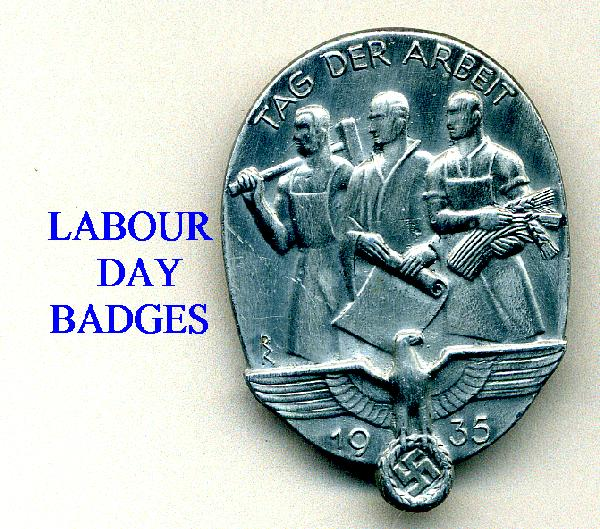 LABOUR AND WORKERS DAY BADGESS