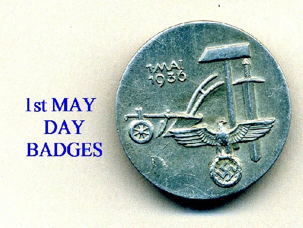 1st MAY DAY BADGES