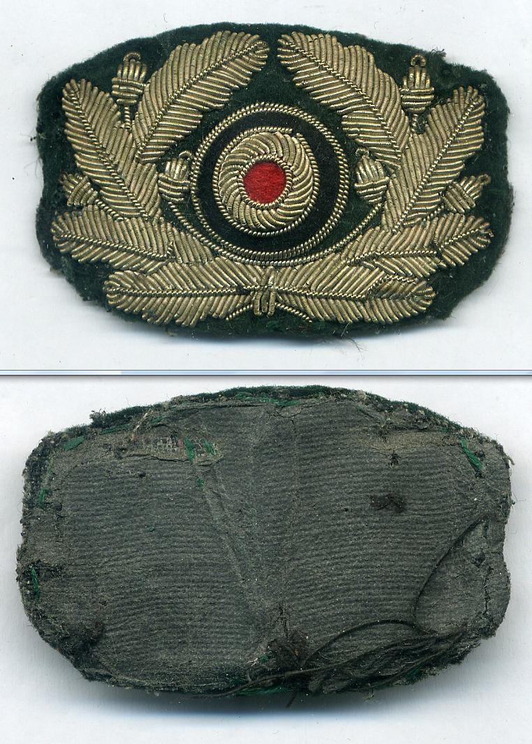 German Cap  Badge at WWW.Thirdreichmedals.com