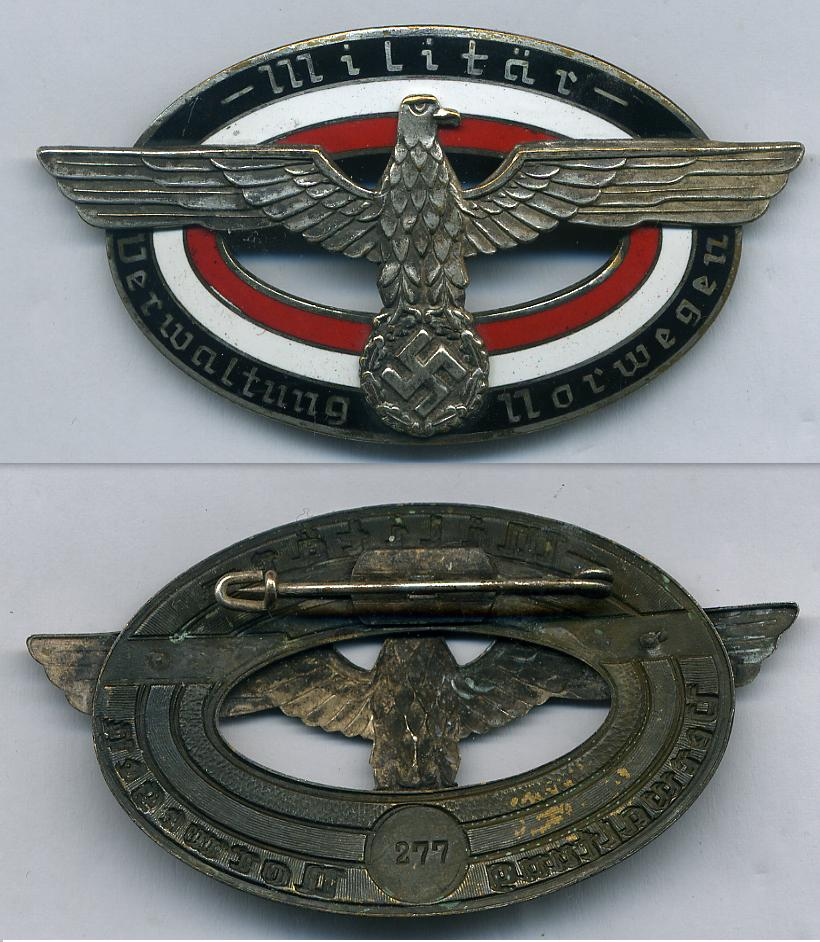 German Police Badge at WWW.Thirdreichmedals.com