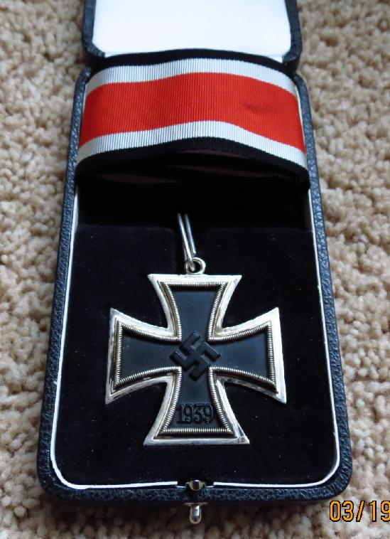 German Knight Cross <BR> Case For Sale
