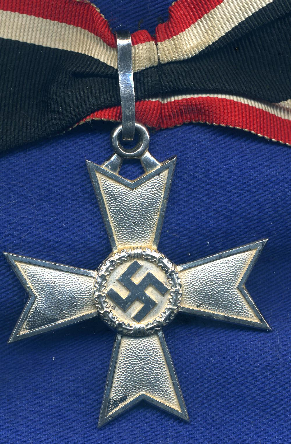 GERMAN THIRD REICH KNIGHT CROSS OF BRAVERY & WAR MERIT