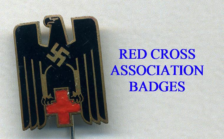 RED CROSS MEMBERSHIP BADGES
