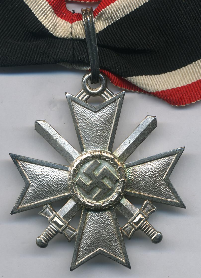 KNIGHTS CROSS OF THE WAR MERIT CROSS WITH SWORDS