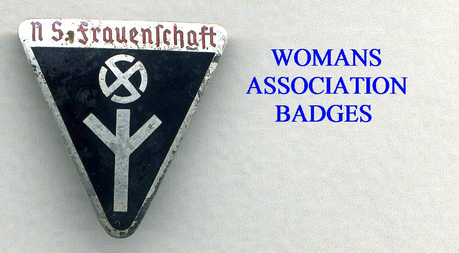FEMALE MEBERSHIP BADGES